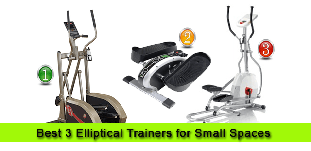 Best Small Spaces 3 best space saving elliptical trainers